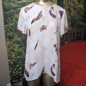 Wilfred Silk Printed Top